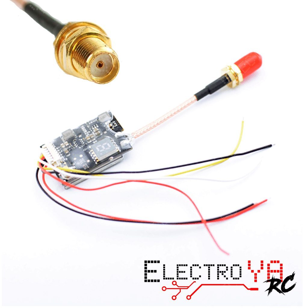 Tx35 With Pigtail Electroya Rc Racing Drones Pigtails Electrical Wiring Transmitter